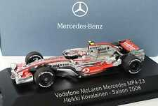 1:43 McLaren Mercedes MP 4-23 Formel 1 2008 23 Heikki Kovalainen, Dealer-Edition