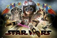 Star Wars Episode 1 : Pod Race - Maxi Poster 61cm x 91.5cm (new & sealed)