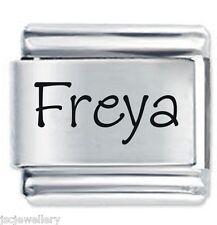 FREYA Name - Daisy Charm by JSC Fits Classic Size Italian Charms Bracelet