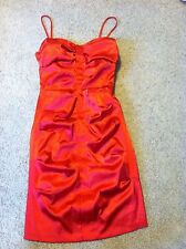 Gorgeous women's junior's size 7/8 B. Darlin red silky-feel dress outfit Evening