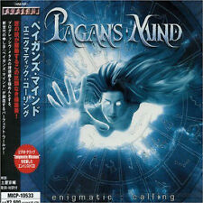 PAGAN'S MIND - enigmatic : calling Japan Import CD 2005 Power Progressive Metal