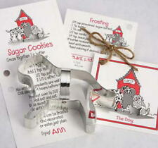 DOG ~ CAT ~ RABBIT tin cookie cutter TRIO ~ MADE IN THE USA (NEW)