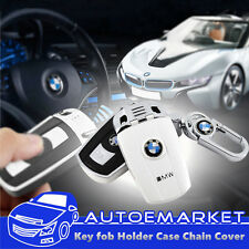Key Fob Holder Case Chain Cover FIT For BMW E81 E82 E87 E90 E91 X1 X3 X5 X6 Z4