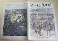 Le petit journal 1892 71 La mi-carême + coup de grisou