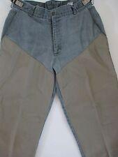 Columbia Hunting Fishing Brush Buster Pants Men 38 Black Jean Nylon Reinforced