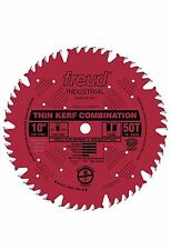 Freud LU83R010 Industrial 10-in 50T ATB Thin Kerf Combination Saw Blade