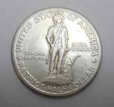 1925 LEXINGTON CONCORD COMMEMORATIVE HALF DOLLAR - SILVER - XF