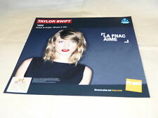 TAYLOR SWIFT - 1989 !!!! !!!!FRENCH RECORD STORE PROMO ADV / DISPLAY