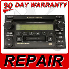 REPAIR SERVICE ONLY TOYOTA JBL Radio Stereo 6 Disc Changer CD Player FIX OEM