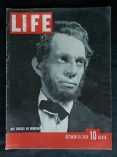 LIFE Magazine October 31, 1938  NICE ADVERTISING