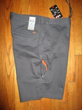 "Men's DOCKERS Charcoal ""On-The-Go Short"" Casual Shorts Sz 36 NWT"