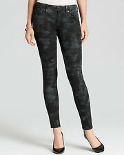 NWT TRUE RELIGION JEANS $228 CASEY SUPER SKINNY PANTS IN TIGER CAMO SZ 32