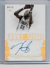 2013-14 PANINI FLAWLESS KEVIN DURANT GOLD AUTO SIGNATURE ON CARD SP 4/10
