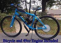 Aluminum 29er Bicycle & 49cc Engine - Motorized Bicycle Kit - Motor Bike -DIY