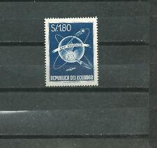 ECUADOR Scott# 650 ** MNH Geophysical year