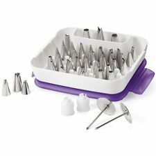 WILTON 55 Piece Master Decorating Tip Set Cake Icing Kit NEW