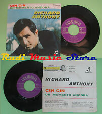 LP 45 7'' RICHARD ANTHONY Cin cin Un momento ancora 1964 italy COLUMBIA*no cd mc