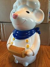 Mouse Baker Chef Cookie Jar Metlox Pottery USA California Excellent Pre Owned Co
