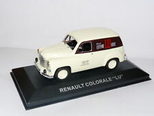 Voiture 1/43 Altaya IXO : RENAULT  colorale Biscuits LU