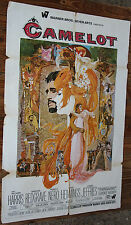 Used - Cartel de Cine  CAMELOT  Vintage Movie Film Poster - Usado