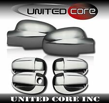04-11 Chevy Aveo5 Hatchback Chrome Mirror Cover Chrome 4 Door Handle Cover