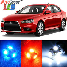 8 x Premium Xenon White LED Lights Interior Package Kit for Mitsubishi Lancer