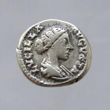 Lucilla Wife of Lucius Verus Silver Denarius Reverse: Venus