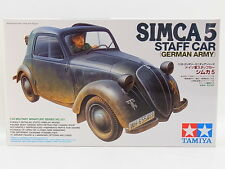 Lot 17861 | Tamiya 35321 Simca 5 staff car German (army) 1:35 kit nuevo en OVP