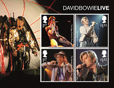 Great Britain - 2017 DAVID BOWIE-MINIATURE SHEET