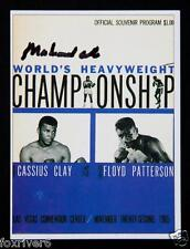 MUHAMMAD ALI Signed Trading Card - Boxing World Heavyweight Champion