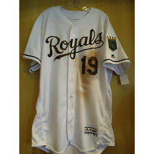 cheslor cuthbert game used royals memorial day jersey