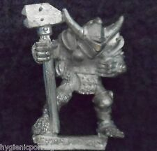 1988 Chaos Warrior of Slaanesh 0217 10 Citadel Warhammer Army Hordes Fighter D&D