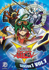 Yu-Gi-Oh Arc-V: Season 1, Volume 1 (DVD, 2016, 3-Disc Set)