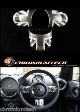 MINI Cooper/S/ONE Black Union Jack NON MF Steering Wheel Cover R55 R56 R57 R58
