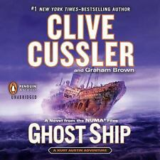 Clive Cussler Graham Brown GHOST SHIP Unabridged CD *NEW* FAST Ship $39.95 Value