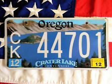 OREGON license licence plate plates USA NUMBER AMERICAN REGISTRATION