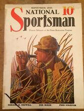 NATIONAL SPORTSMAN Sep 1931 Magazine Illus Duck Caller William H Foster