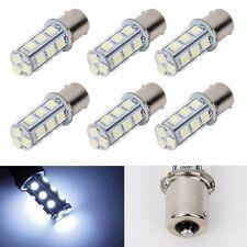 6X 1156 BA15S 5050 18smd Car RV Trailer White LED Light 7503 1141 1073 Bulb New