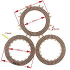 Clutch Disc Plate Set for 50 70 90 110cc Automatic Clutch ATV Dirt Pit Bike