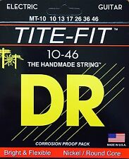 DR  MT10 Electric Guitar Strings 10-46 Tite Fit