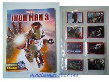 Album IRON MAN 3 il film panini completo di figurine tutte da attaccare.maclama