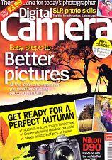 Digital Camera magazine with  Sony  A350 Canon 1000D Nikon D60   Autumn 2008