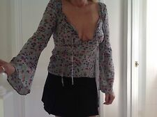 Karren Millen Silk Top 89% (Size 10) Very Good Condition