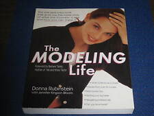 THE MODELING LIFE BY DONNA RUBINSTEIN FIRST EDITION 1998