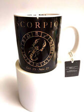 Chinese Zodiac SCORPIO 16oz Coffee Mug Tea Cup Black Horoscopes Astology RS51916