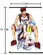 Hot Japan Anime Kuroko no Basket Wall Poster Scroll Home Decor 536