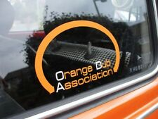 'ODA - Orange Dub Association' Sticker - VW Beetle Club