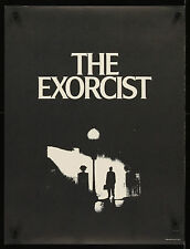 "THE EXORCIST 1973 19""x25"" unfolded U.S. poster special style classic image"