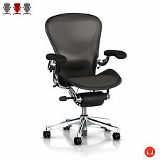 Herman Miller Aeron Chair- Aluminium Polished