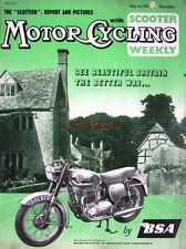 May 14 1959 B.S.A Motor Cycle ADVERT - Magazine Cover Print
